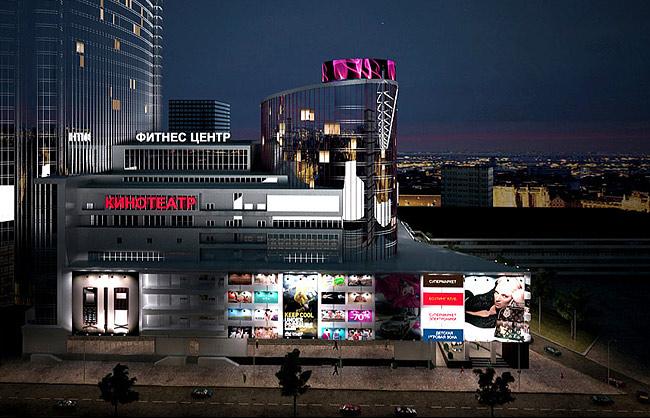 3D визуализация столичного бизнес-центра
