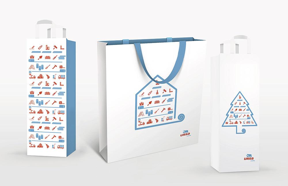 Подарочные пакеты URSA