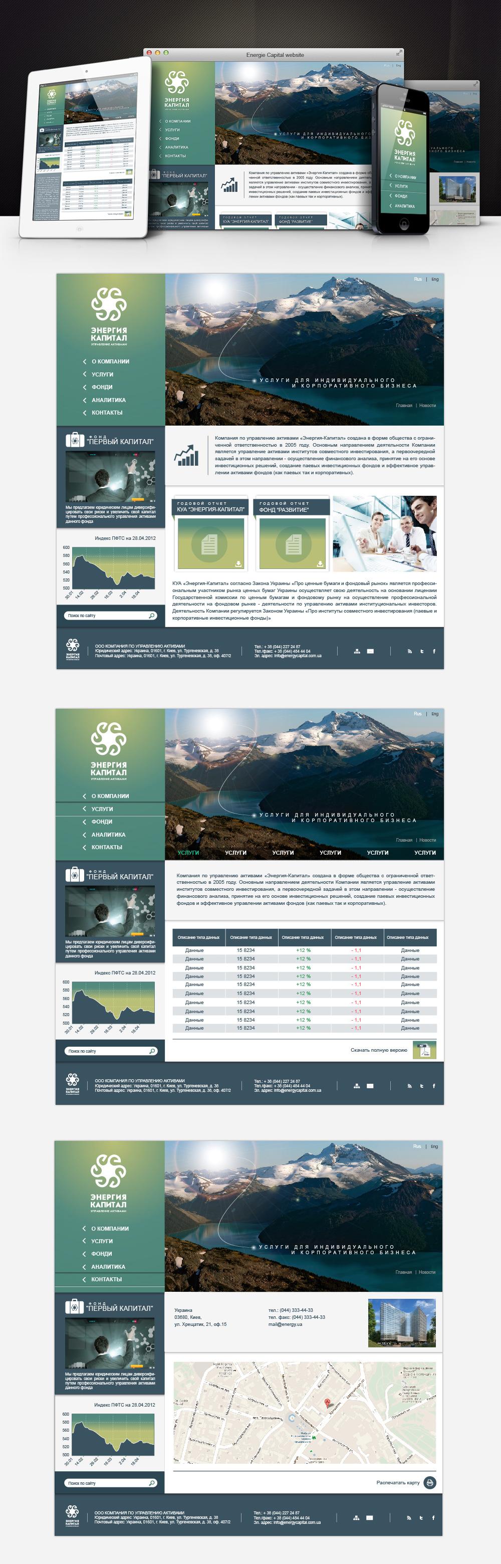 Энергия капитал, официальный сайт