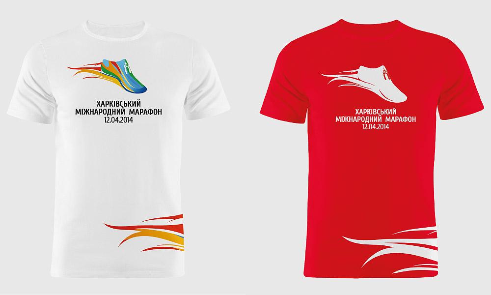 Пример брендирования футболок