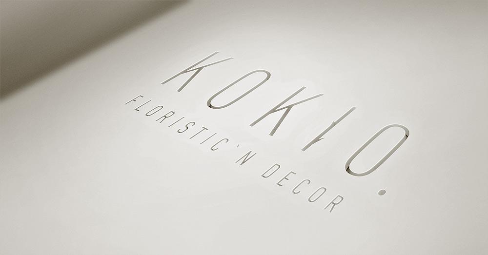 Визуализация логотипа KOKIO