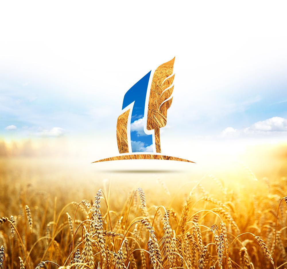 Стилизованный логотип Укр-Агро-Продукт