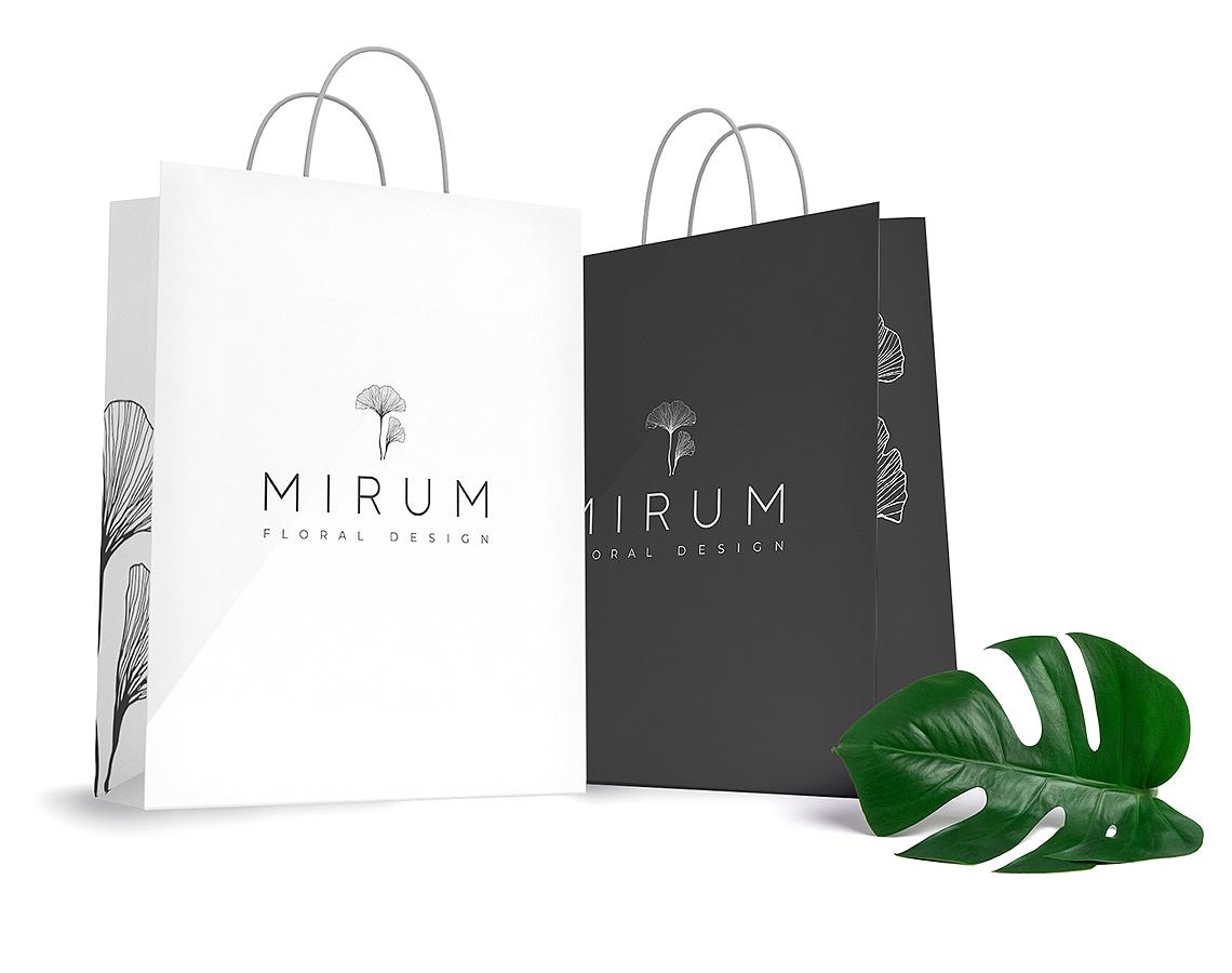 Фирменные пакеты MIRUM