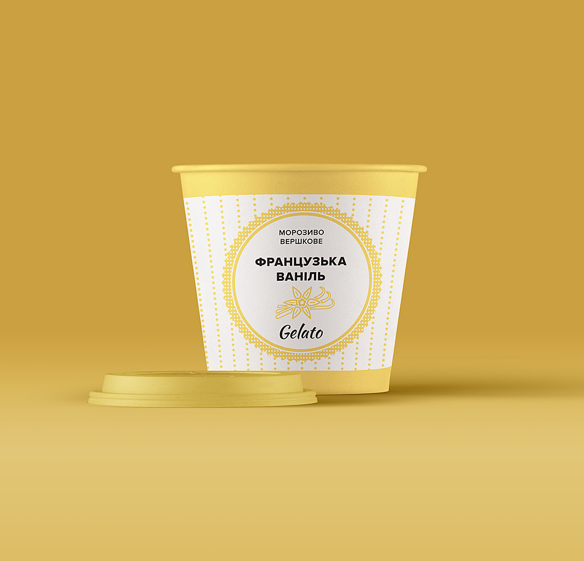 Gelato – ваниль